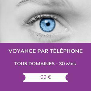 Voyance par telephone – tous domaines – 30 mns
