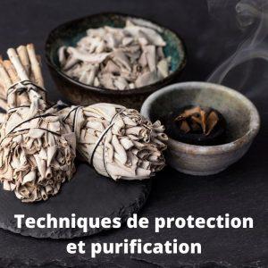 Techniques de protection et purification (PDF)