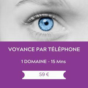 Voyance par telephone – 1 domaine – 15 mns