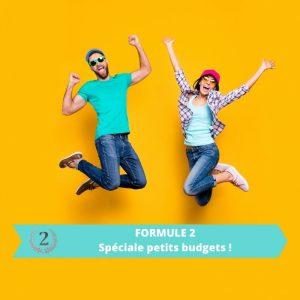 Publicité pour les professionnels – Formule 2