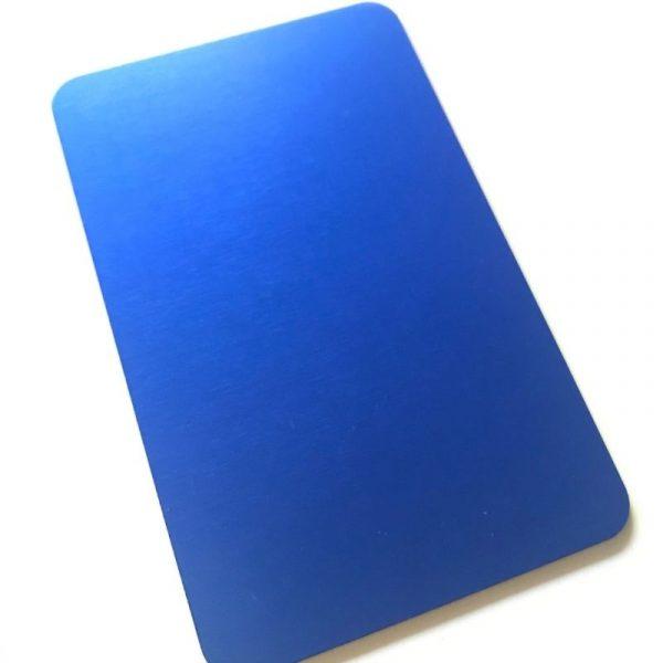 plaque d'energie bleue