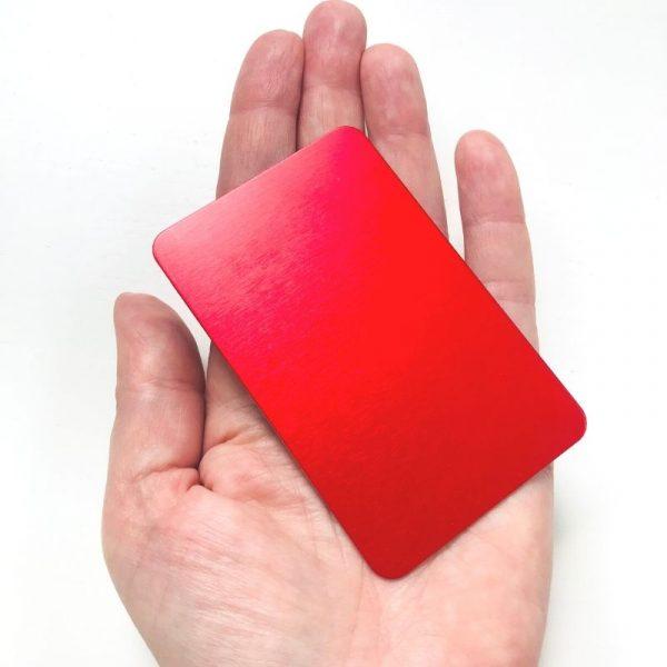plaque rouge