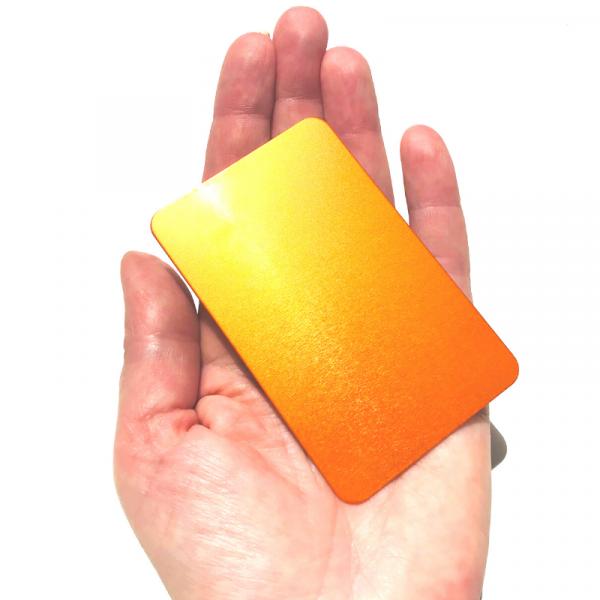 plaque energie orange