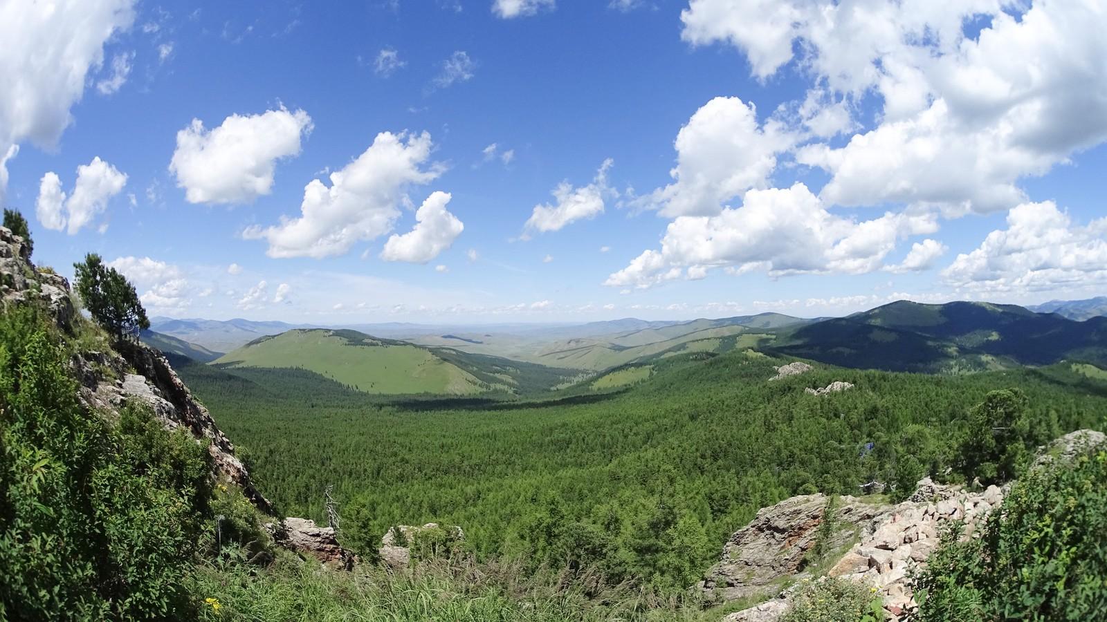 paysage de mongolie
