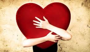 coeur dans les bras