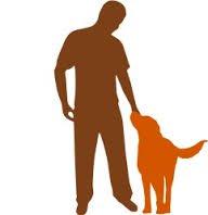 silhouette chien