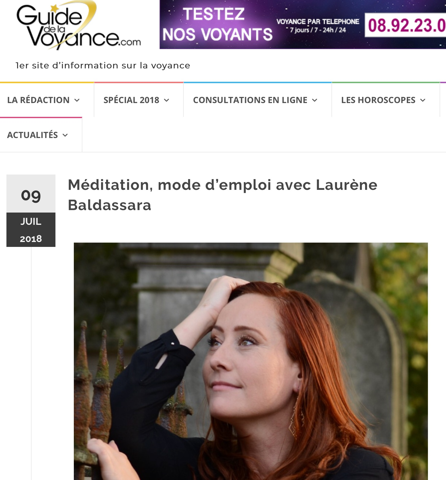 interview de laurène baldassara