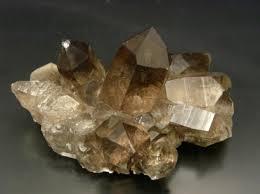 druse quartz fumé