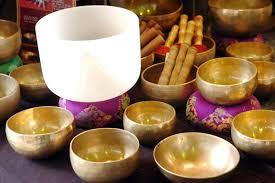 bols tibétains et bols de cristal