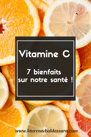 bienfaits de la vitamine C
