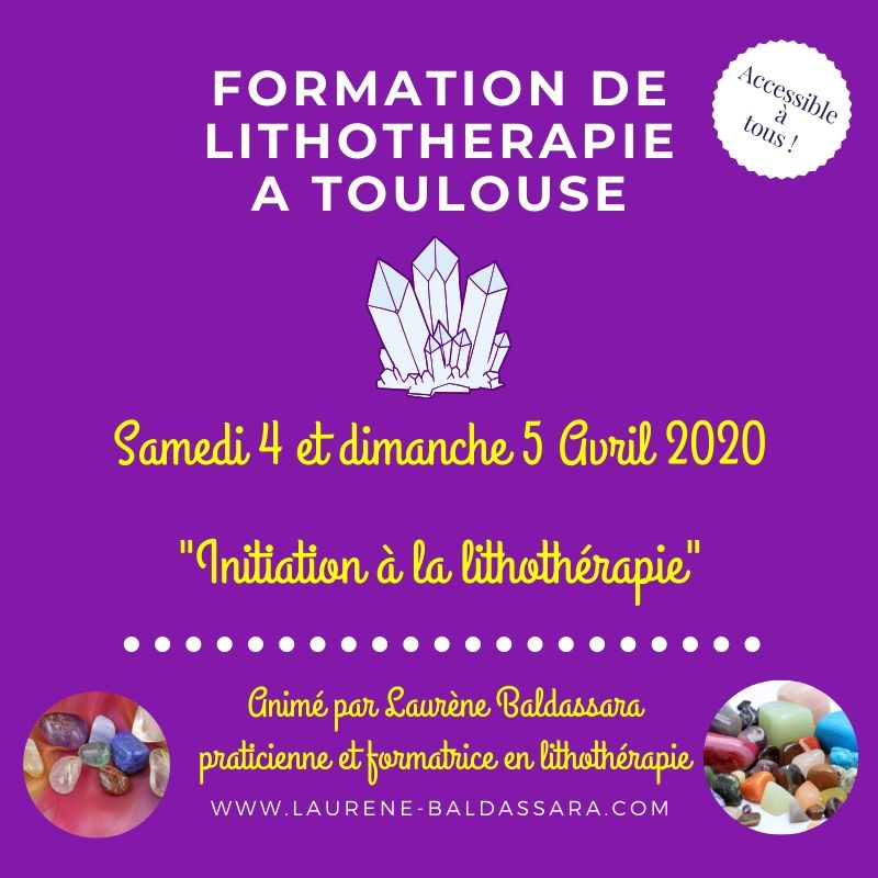 formation de lithotherapie à toulouse