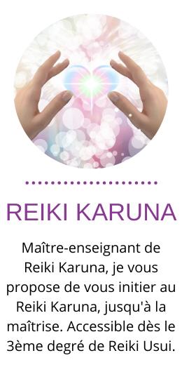 formation reiki karuna à toulouse