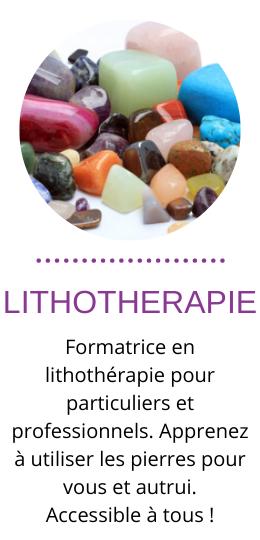 formation lithothérapie à toulouse