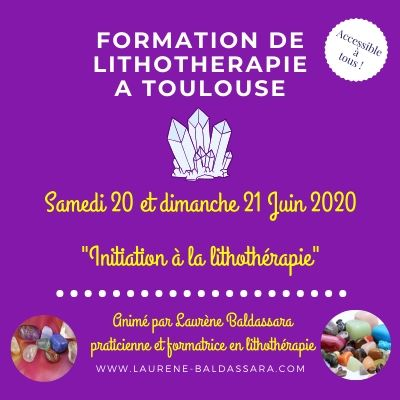 formation lithotherapie toulouse
