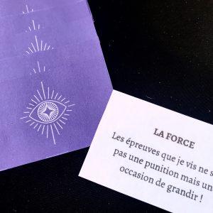 carte dos violet