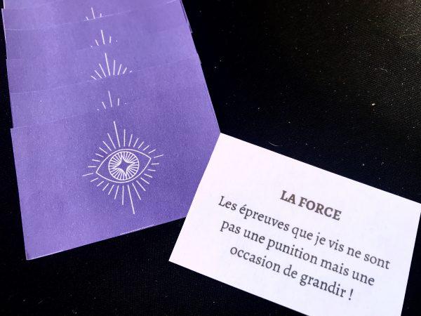 carte dos violet|  | Laurene Baldassara
