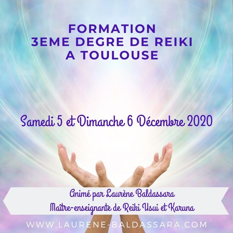 formation Reiki 3 toulouse