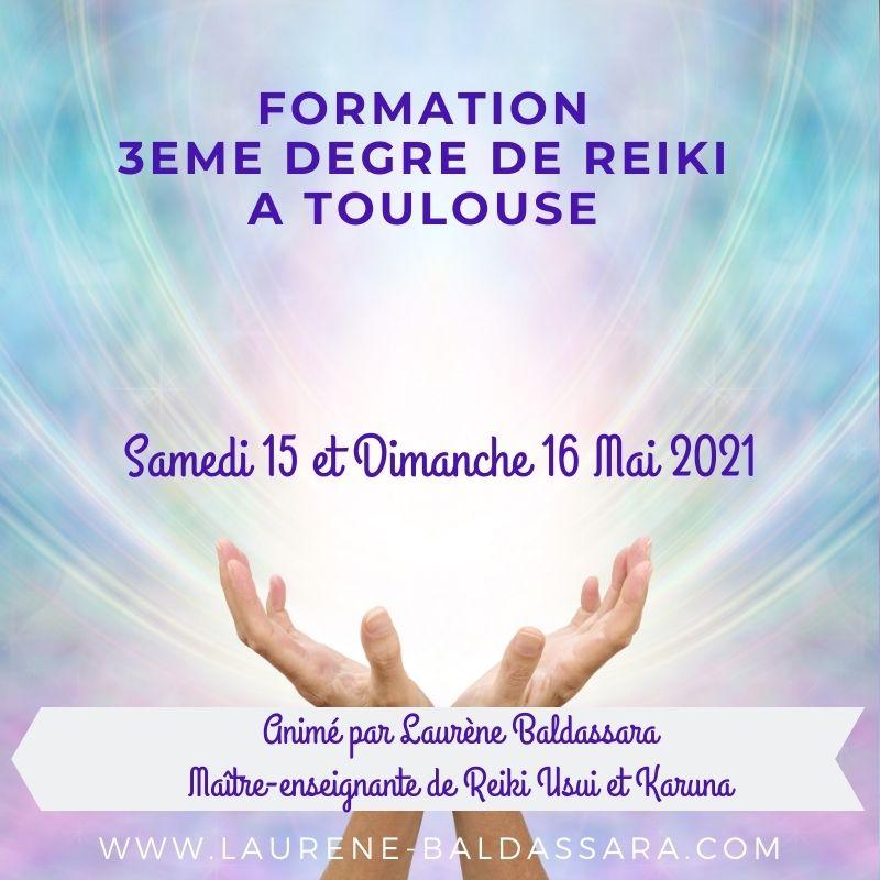 stage de reiki 3ème degré